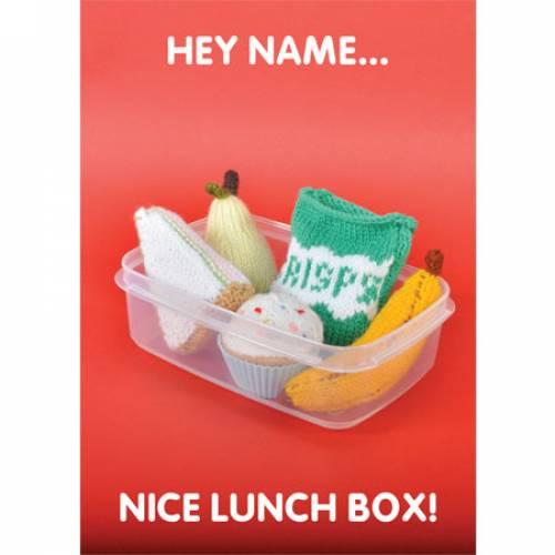 Nice Lunch Box! Greeting Card